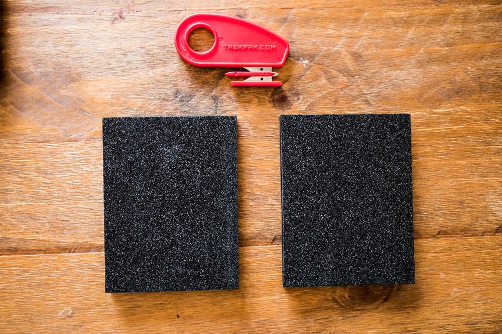 TrekPak foam cutter