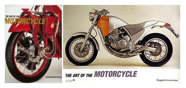 The Art Of The Motorcycle show at The Guggenheim