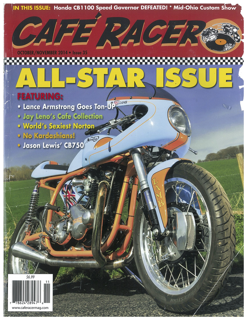 motorcycle film festival cafe racer mag issue 35