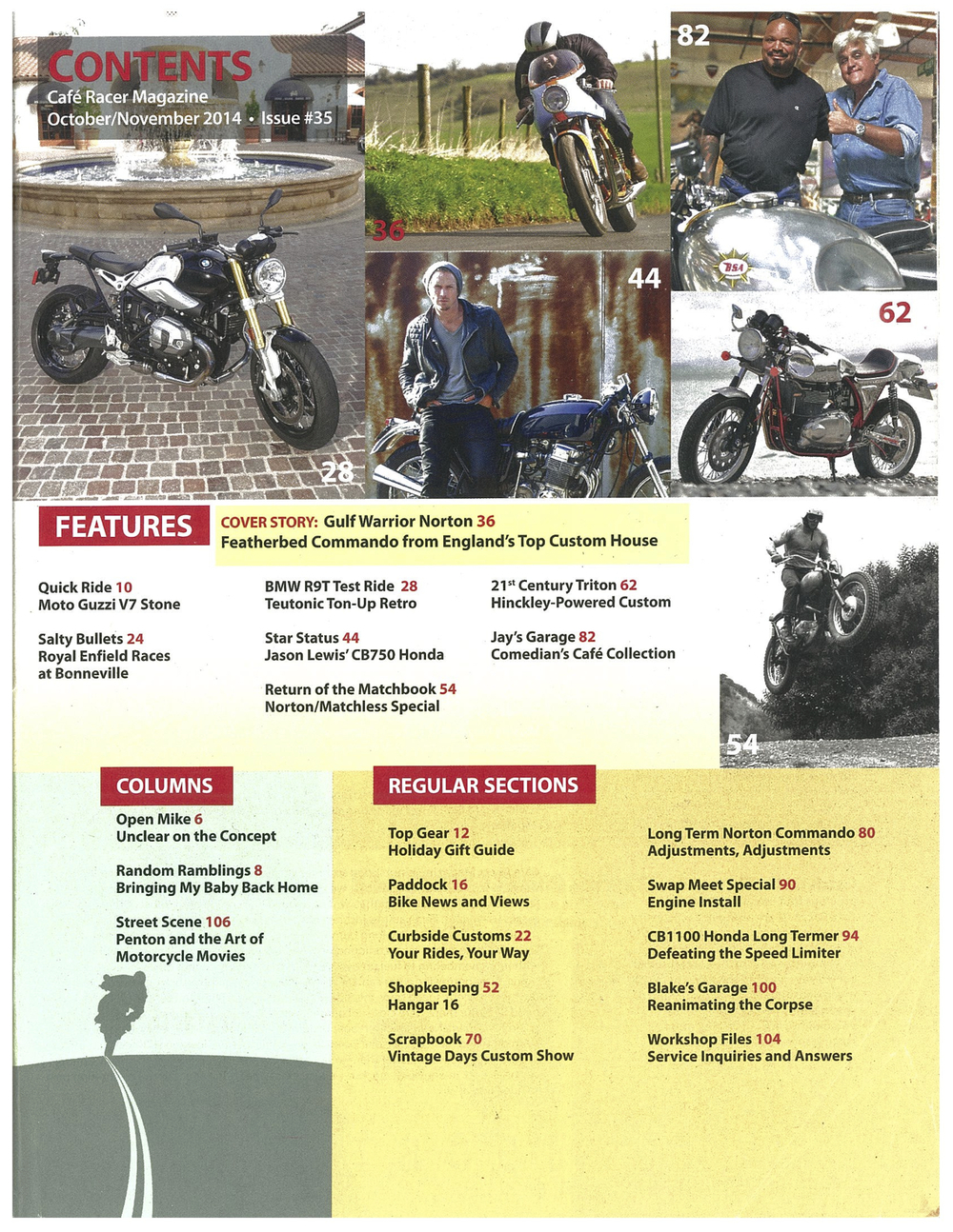 motorcycle film festival cafe racer mag issue 35 2