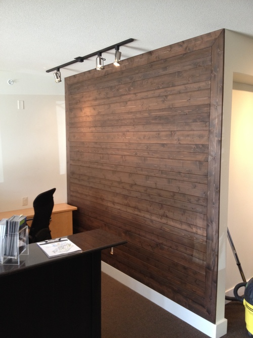 office feature wall. Office Feature Wall