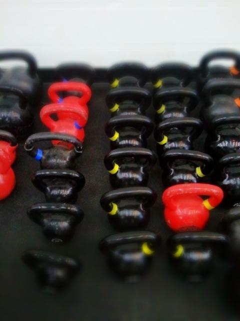 Kettlebells at CrossFit Elevation
