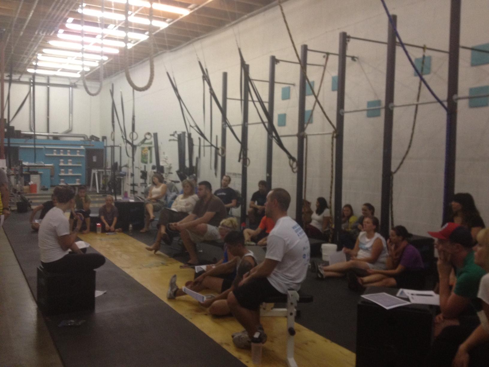 Paleo Diet Seminar at CrossFit Elevation