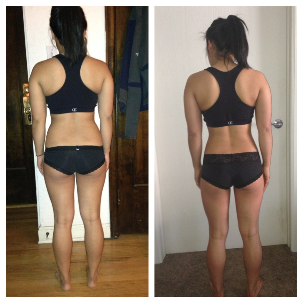 Before & After - Back