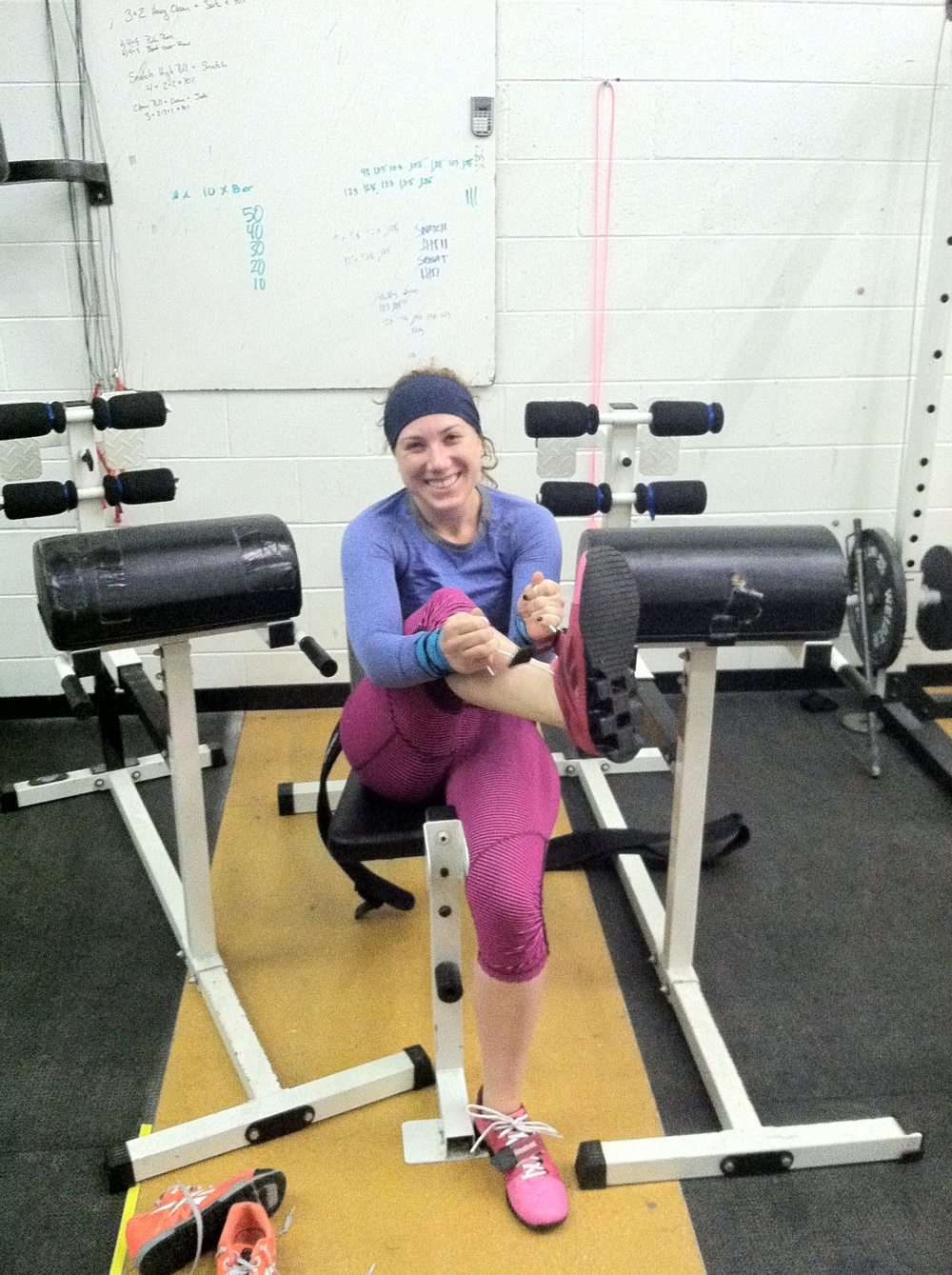 Do you smile like this at 6am? Lace up some lifting shoes and look in the mirror- BOOM!