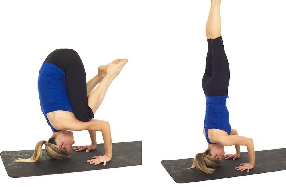 Tripod headstand