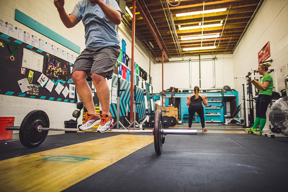 Crossfit 14.5 jump