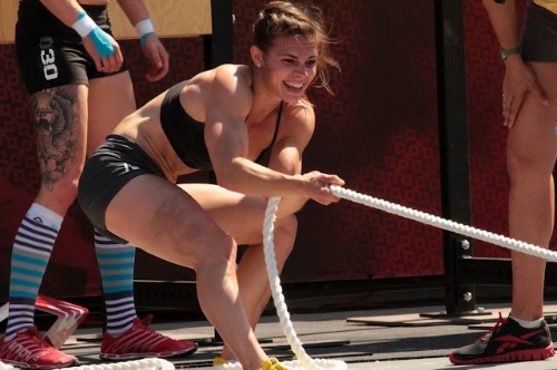 Julie Foucher in action