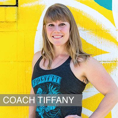 Crossfit Coach Tiffany