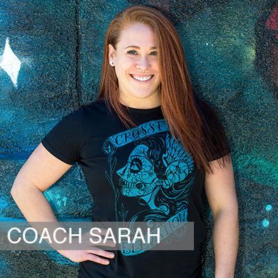 Crossfit Coach Sarah