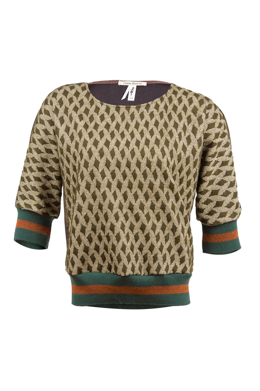Dame Blanche - Sweater Khaki & Gold-3.jpg