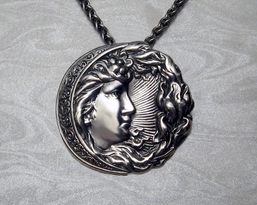 Moon Goddess pendant.