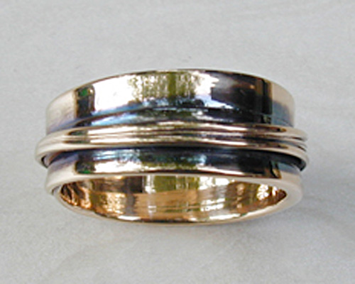 Free-form band continuous wrap.