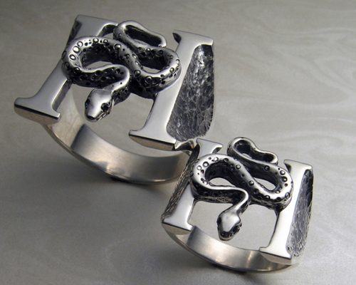Headstones Rings - 22mm & 17mm