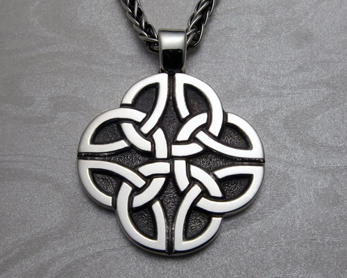 Dara celtic knot pendant in 14k white gold metamorphosis jewelry dara celtic knot pendant in 14k white gold aloadofball Choice Image