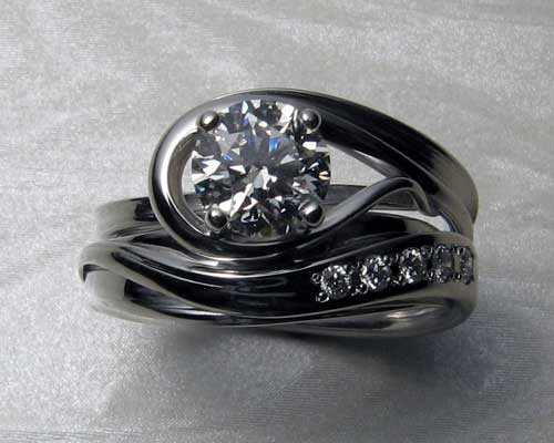 unusual ring set your design very engagement funky rings own