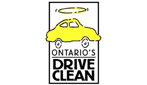 Look for an eTest facility that features the official Drive Clean logo.