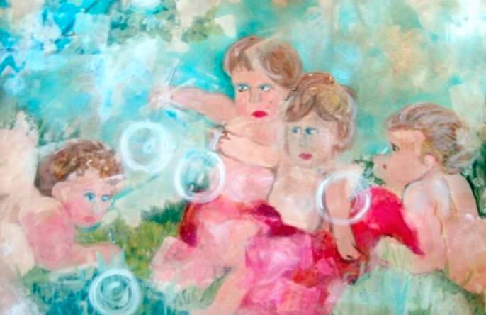 Title: Blowing Bubbles