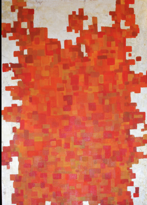 Title: Orange Matrix