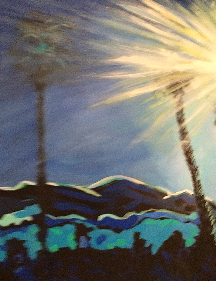 Title: Intense Sun