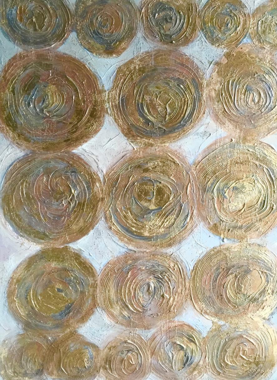 Title: Golden Circles
