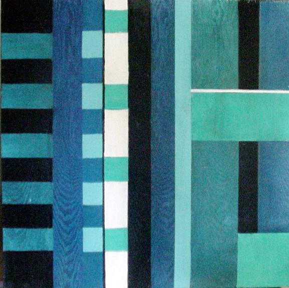 Title: Blue Block Study -1