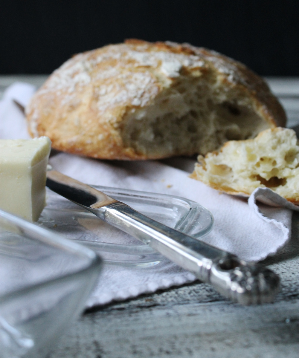 No-Knead Artisan Loaf: My Diary of Us