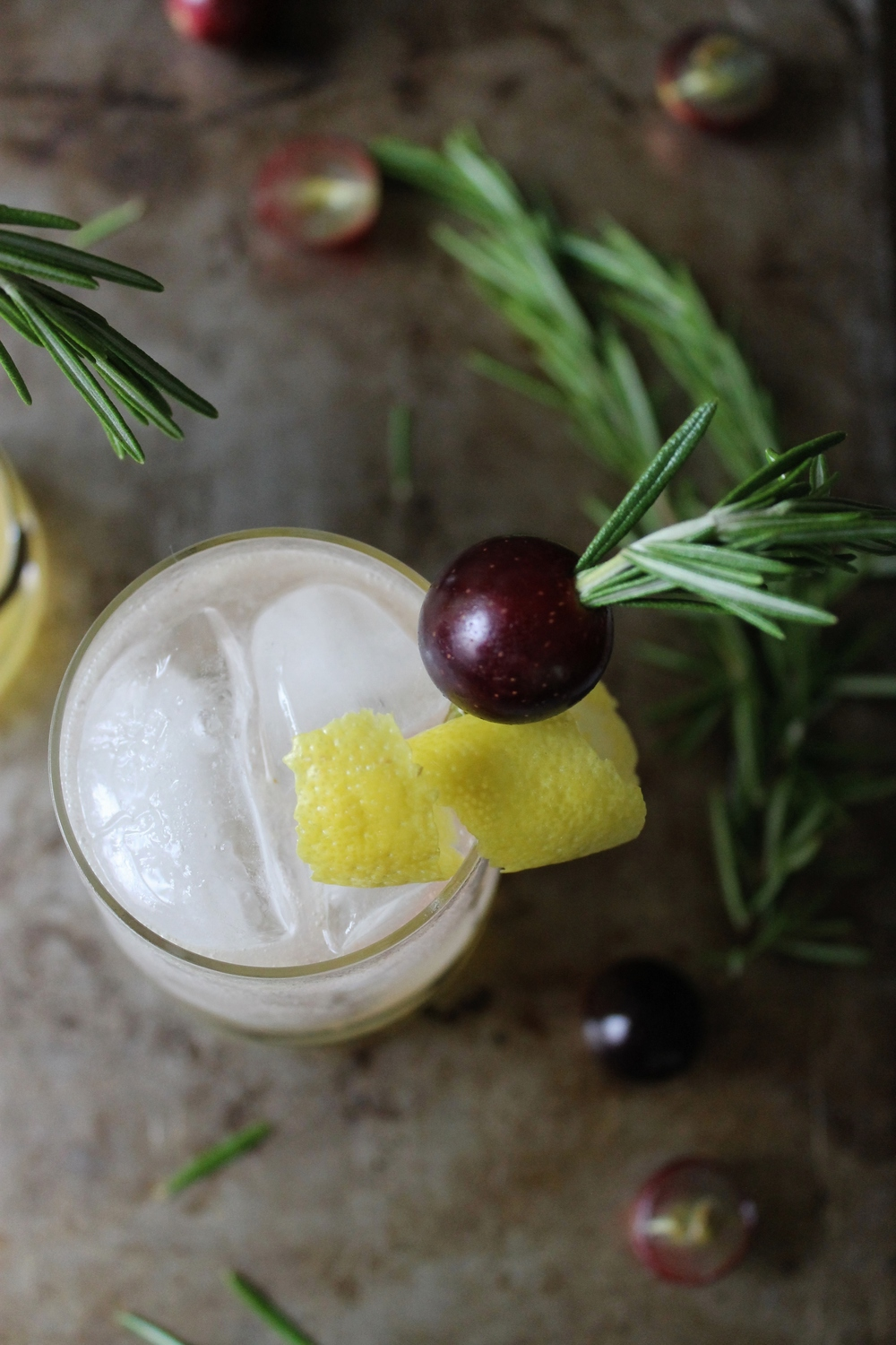 Muscadine and Rosemary Smash Cocktails: My Diary of Us
