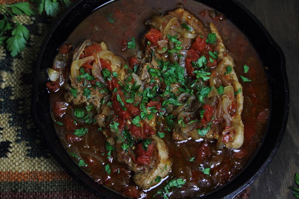Italian Braised Pork Chops: My Diary of Us