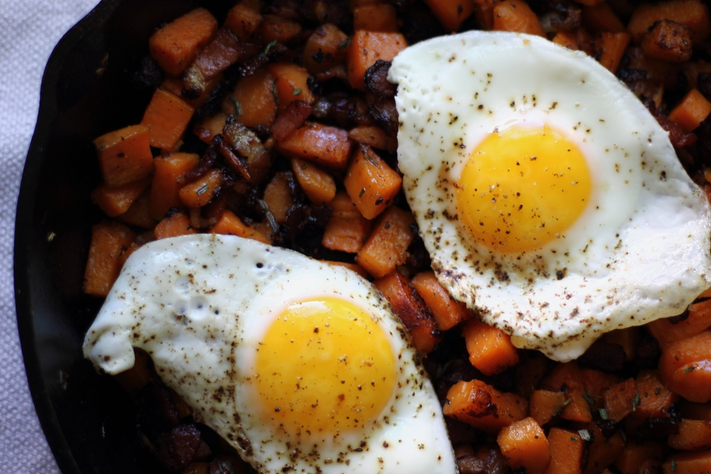 Rosemary Honey Sweet Potato Hash: My Diary of Us