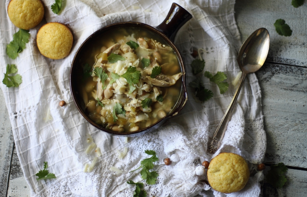 Healthy White Bean Chicken Chili: My Diary of Us