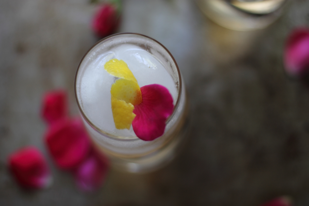 The Bubbly Rose Cocktail: My Diary of Us