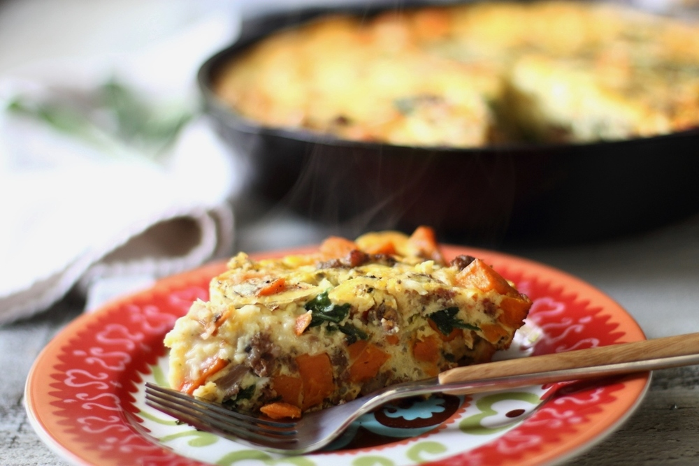 Sausage, Sweet Potato, and Sage Frittata: My Diary of Us