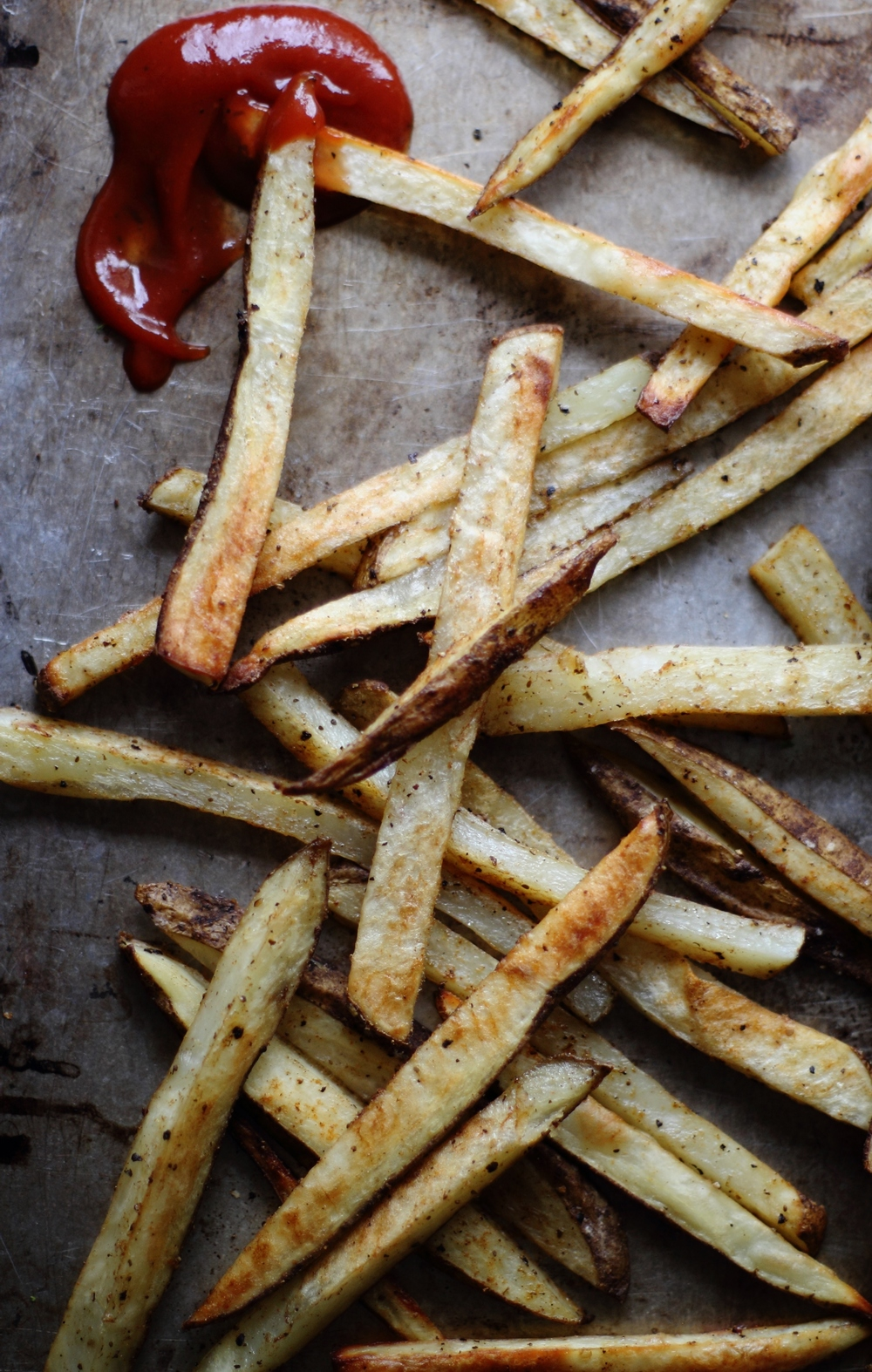 Old Bay Fries with Bloody Mary Ketchup: My Diary of Us