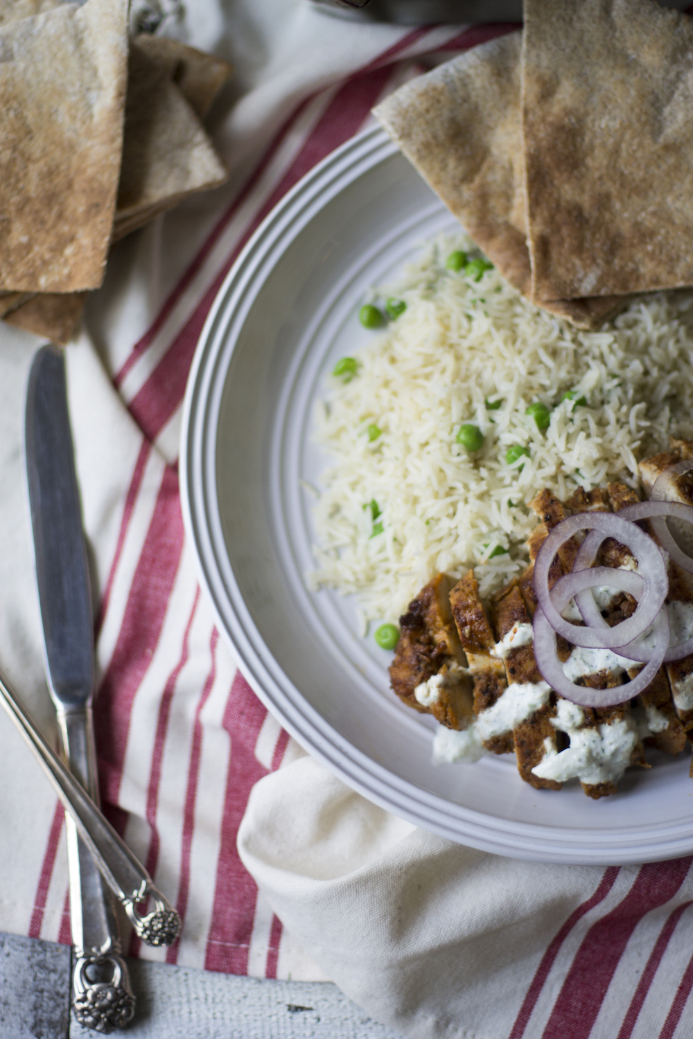 Chicken Schwarma over Greek Rice: My Diary of Us