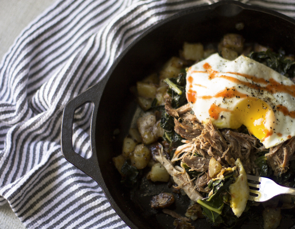 Farmer's Market Pork and Collard Green Hash: My Diary of Us