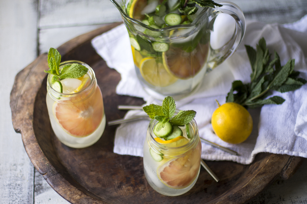 CItrus Detox Water: My Diary of Us