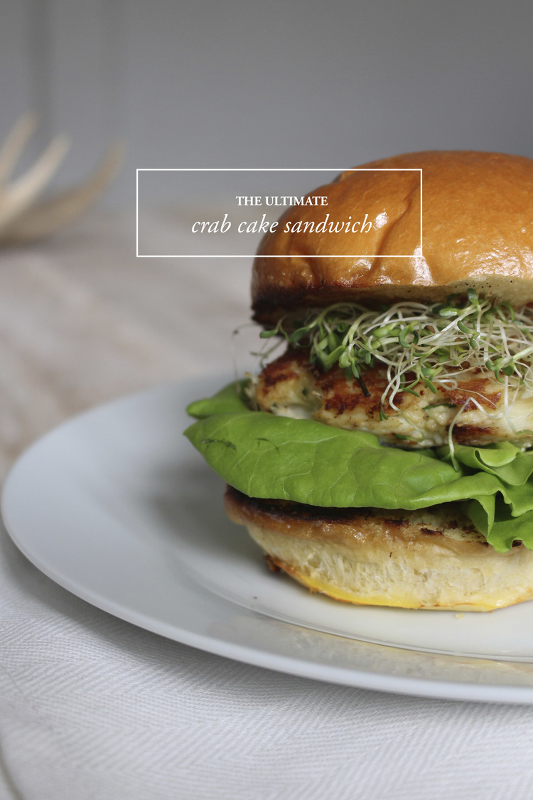 Ultimate Crab Cake Sandwich: Upperlyne & Co.