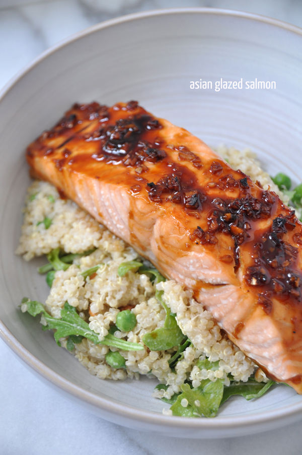 Easy Asian Glazed Salmon: A life Well Lived Blog