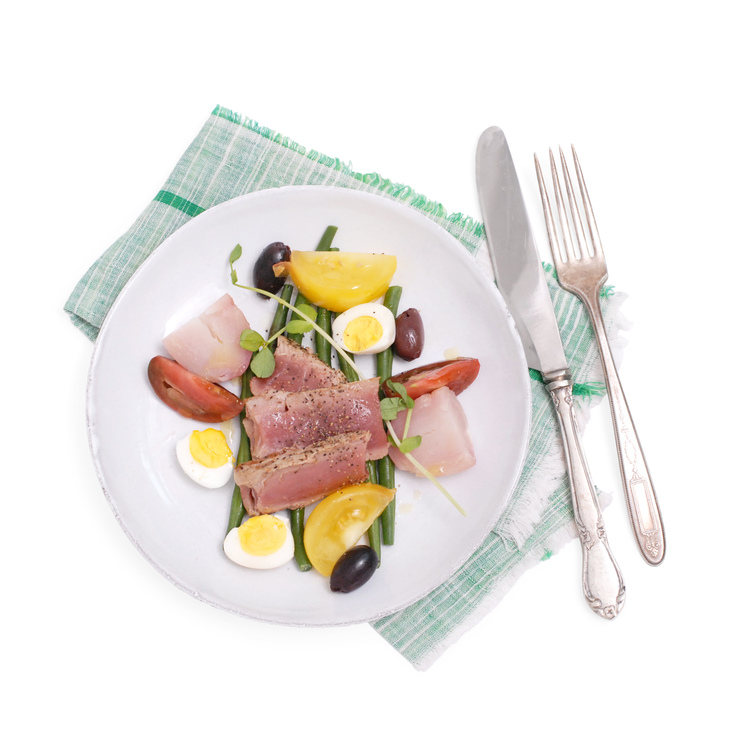 Tuna Nicoise: Eat. Real. Food