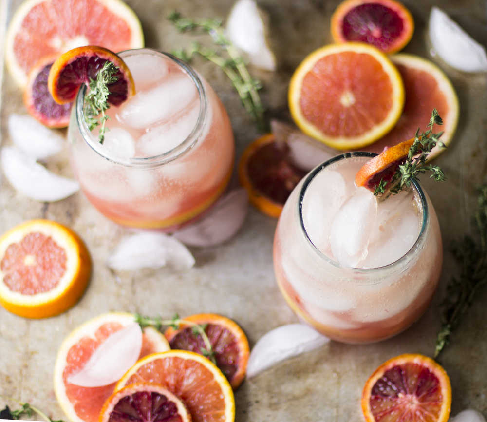 Citrus Thyme Punch: My Diary of Us