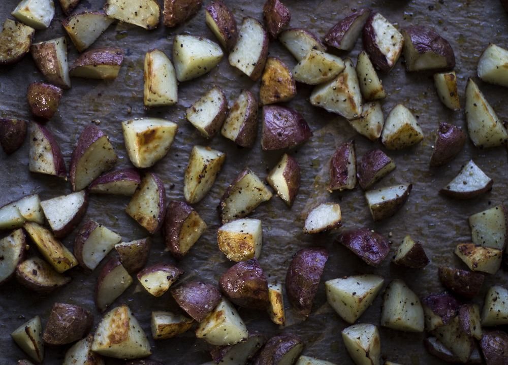 Anytime Roasted Potatoes: My Diary of Us