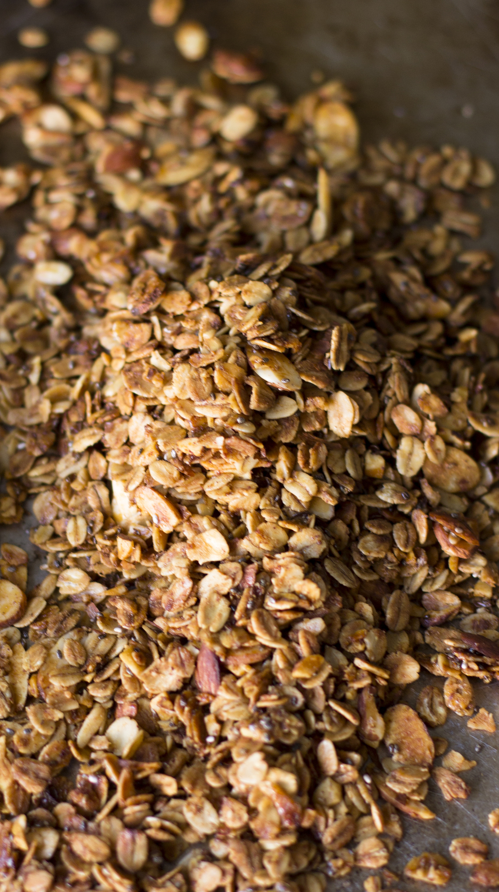 Almond Granola: My Diary of Us
