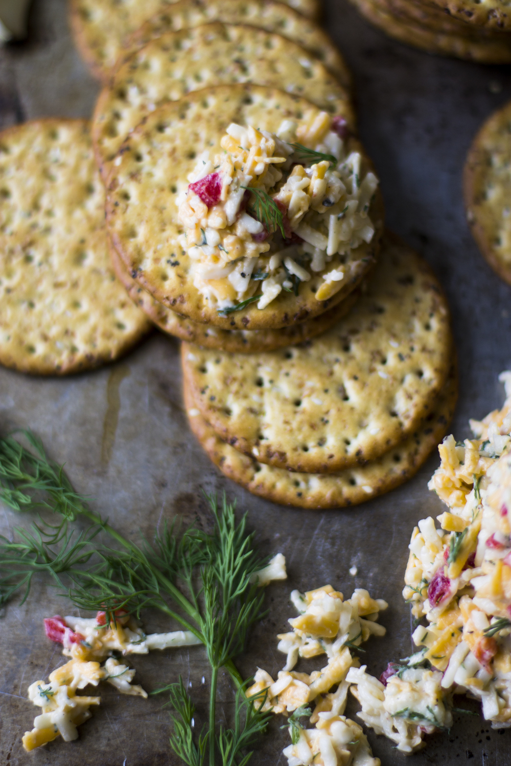 Dill and Garlic Pimento Cheese: My Diary of Us