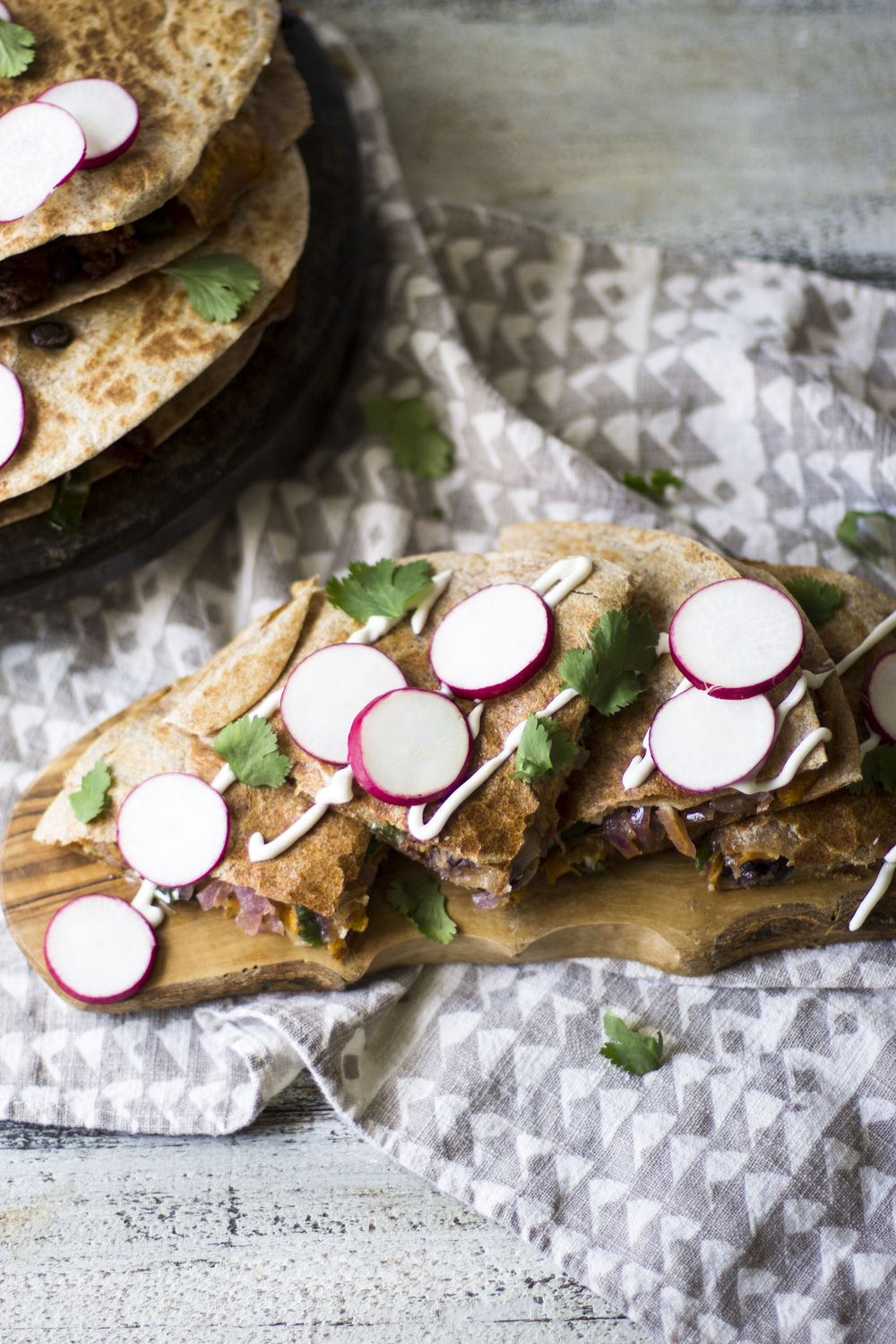 Chorizo, Poblano, and Sweet Potato Quesadillas: My Diary of Us