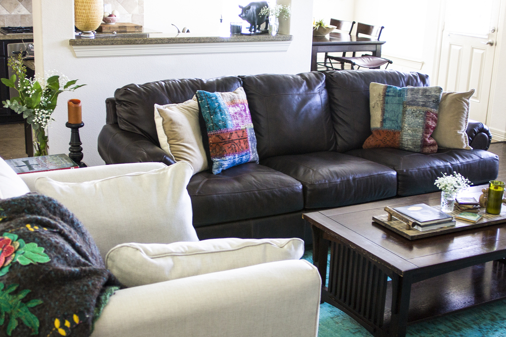 At Home Style Revamp, Boho Living Room: My Diary of Us