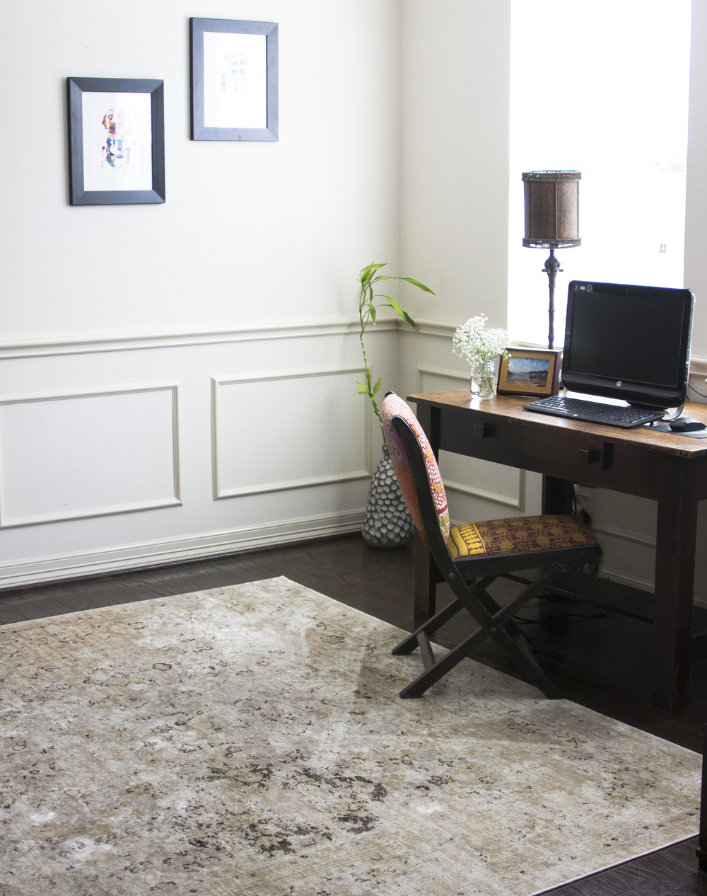 At Home Style Revamp, Dining Room to Office: My Diary of Us