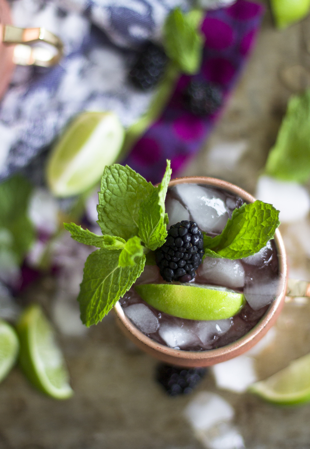 Blackberry Mule Mocktails: My Diary of Us