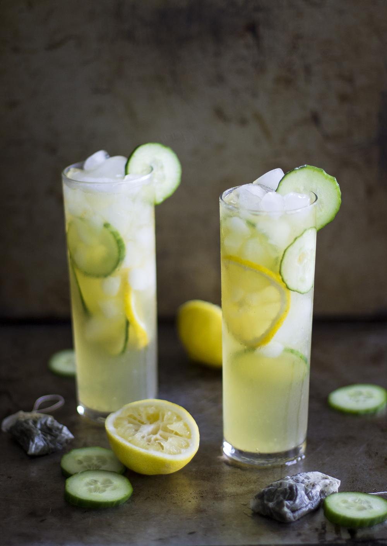 Green Tea Cucumber Cooler — My Diary of Us