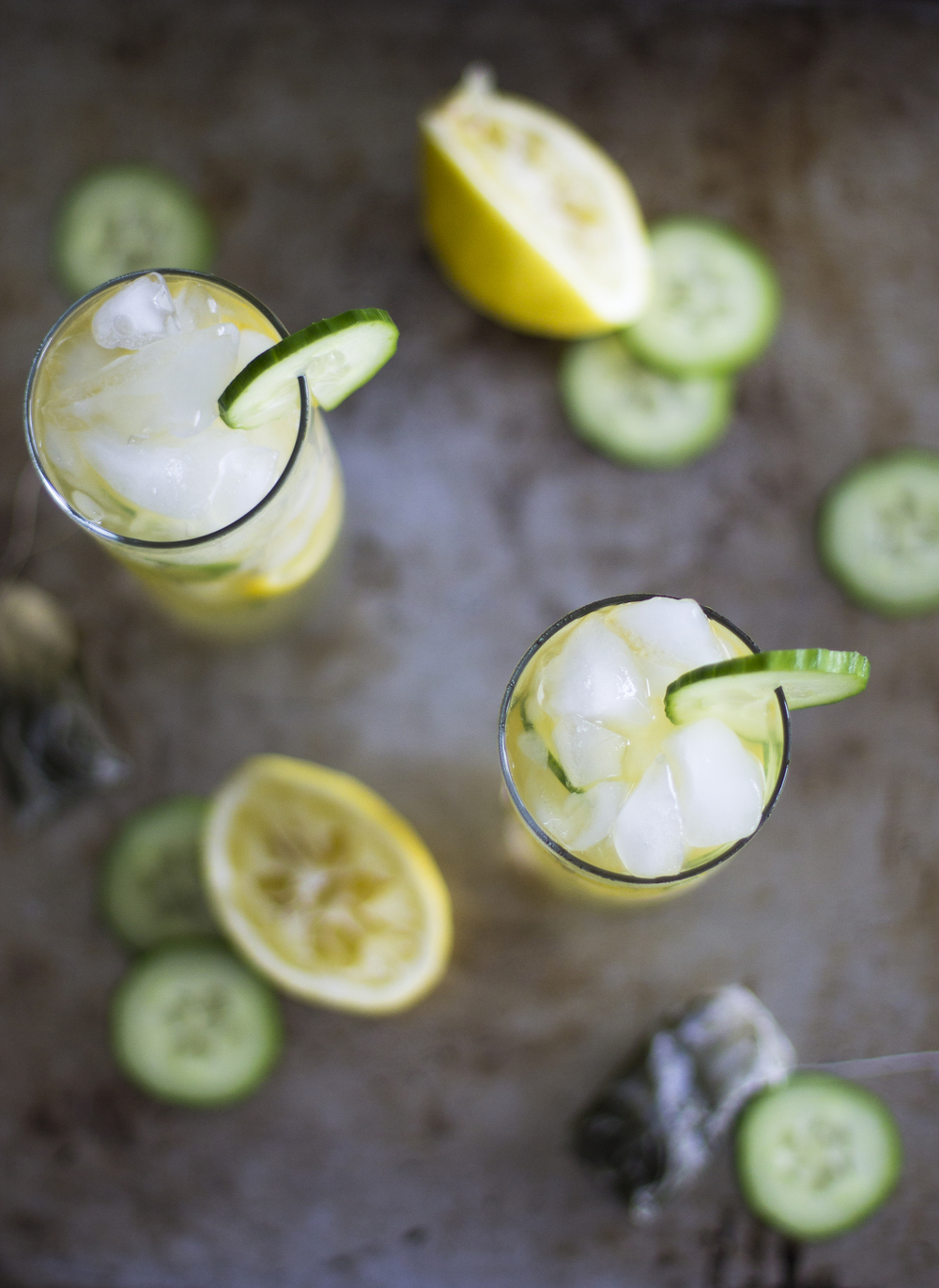 Green Tea Cucumber Cooler: My Diary of Us